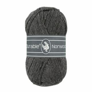 Durable Norwool antraciet 001