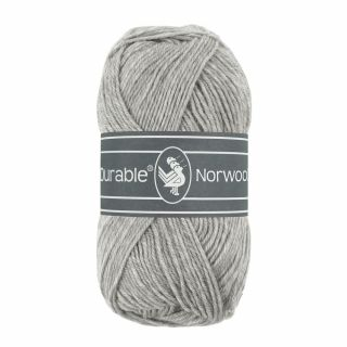 Durable Norwool lichtgrijs 004