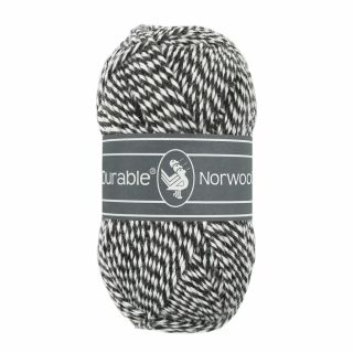 Durable Norwool antraciet melee M001