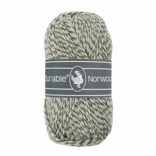 Durable Norwool grijs melee M004