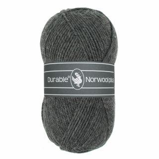 Durable Norwool Plus antraciet 001