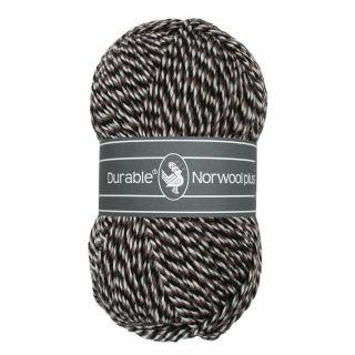 Durable Norwool Plus bruin wit melee M00932