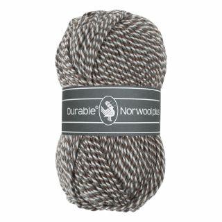 Durable Norwool Plus grijs wit bruin melee M04932