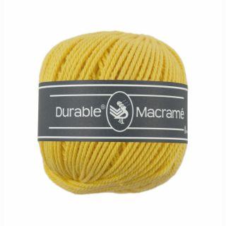 Durable Macramé Bright yellow 2180