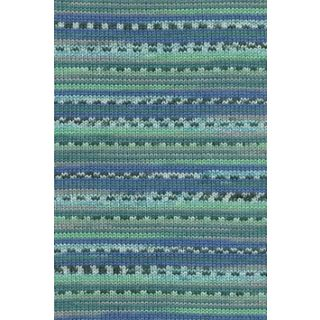 MERINO 200 BEBE COLOR jade/blauw jacquard