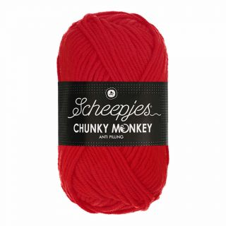 Scheepjes Chunky Monkey Scarlet 1010