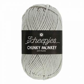 Scheepjes Chunky Monkey Pale Grey 1203