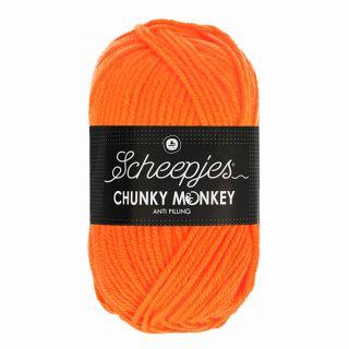 Scheepjes Chunky Monkey Neon Orange 1256