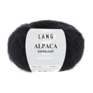 ALPACA SUPERLIGHT zwart