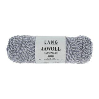Lang Yarns Jawoll sokkenwol - 0151 blauw-lichtblauw