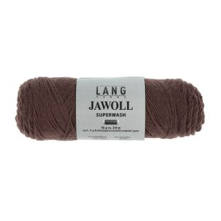 Lang Yarns Jawoll sokkenwol - 0168 choco