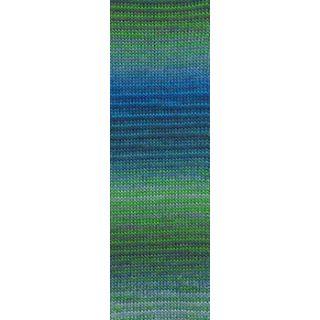 MILLE COLORI SOCKS & LACE LUXE groen/blauw/grijs
