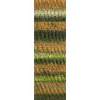 MILLE COLORI SOCKS & LACE LUXE orange/bruin