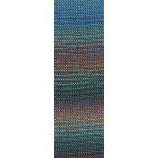 MILLE COLORI SOCKS & LACE LUXE multicolor turquoise/groen/orange