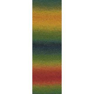 JAWOLL MAGIC DEGRADE multicolor groen/rood/geel