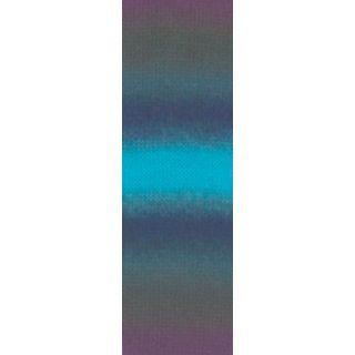 JAWOLL MAGIC DEGRADE turquoise/petrol/navy