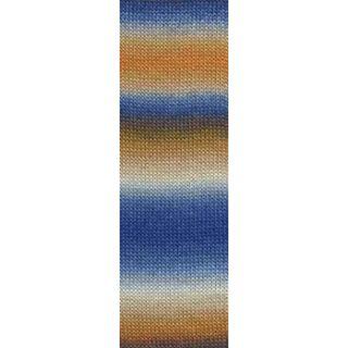 JAWOLL MAGIC DEGRADE orange/beige/blauw