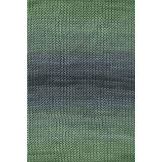 MERINO+ COLOR groen/grijs
