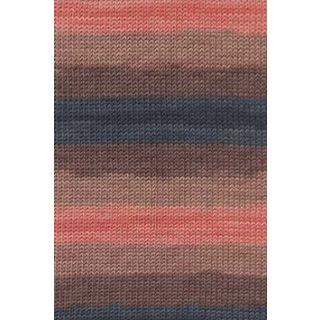 MERINO+ COLOR zalm/marine/bruin