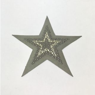 Applicatie Ster Rhinestones - groen - Restyle
