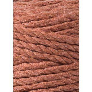 Bobbiny Macrame Triple Twist 5 mm - Terracotta