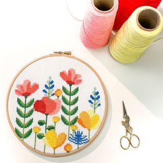 Borduurpakket Spring Flower - Studio Koekoek