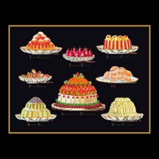 Borduurpakket Taarten (Sweet Dishes) - Thea Gouverneur