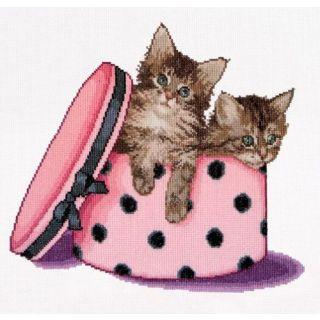 Borduurpakket Kitten Twins - Thea Gouverneur