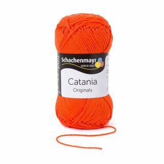Catania katoen 189 orange - Schachenmayr