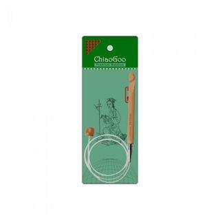ChiaoGoo Tunische haaknaald 10 mm incl kabel 100 cm