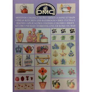 DMC borduurboekje Keuken en Badkamer
