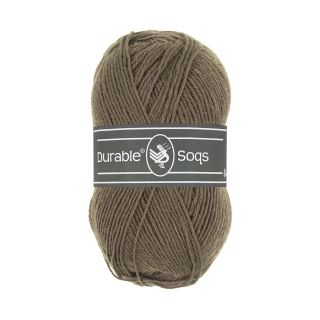 Sokkenwol Durable Soqs - 404 Deep taupe