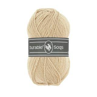 Sokkenwol Durable Soqs - 423 Cream tan