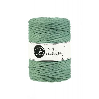 Bobbiny Macrame 5 mm - Eucalyptus Green