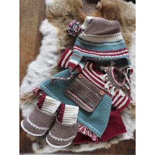 Haakpakket Funny XXL kledingset - Kerst Nordic meisje