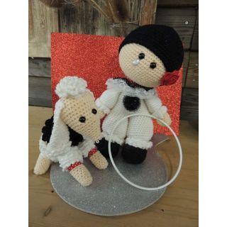 Haakpakket Funny Pierrot set