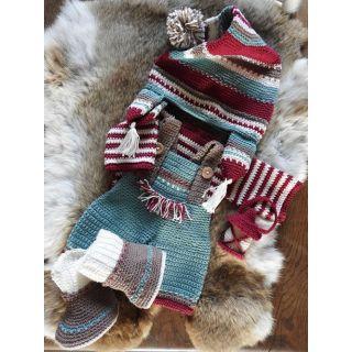 Haakpakket Funny XXL kledingset - Kerst Nordic jongen