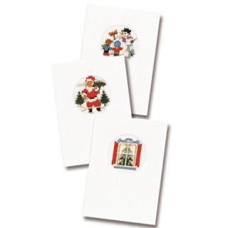 Kerstkaarten borduurpakket I - Pako