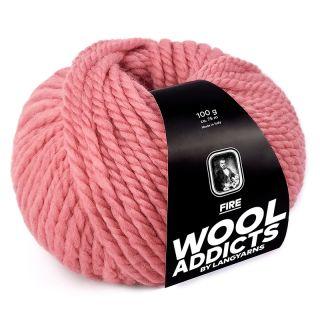 Lang Yarns Wooladdicts Fire - 029 blush