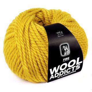 Lang Yarns Wooladdicts Fire - 011 oker gold