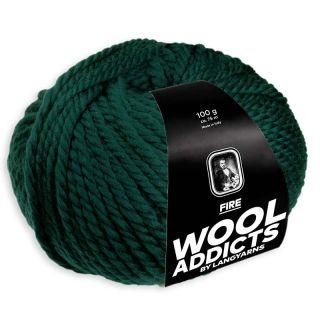 Lang Yarns Wooladdicts Fire - 018 dark teal