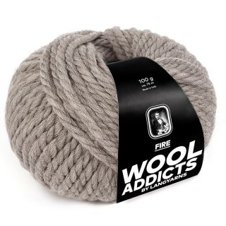 Lang Yarns Wooladdicts Fire - 096 light brown