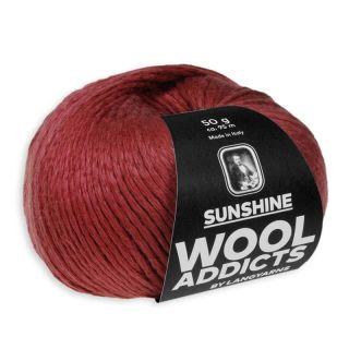 Lang Yarns Wooladdicts Sunshine - 063 dark red
