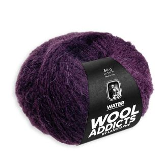 Lang Yarns Wooladdicts Water - 064 aubergine