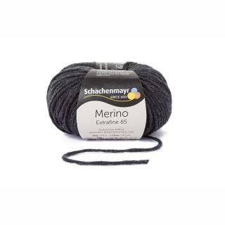 Merino Extrafine 85 - 00298 Anthrazit meliert - SMC