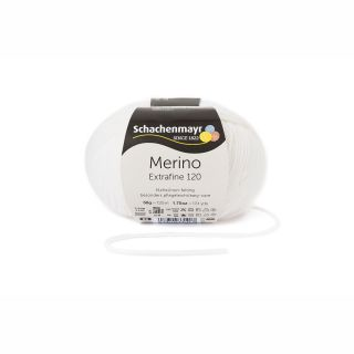 Merino Extrafine 120 - 00101 wit - SMC