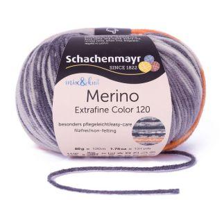 Merino Extrafine Color 120 - 506 kvitfjell - SMC