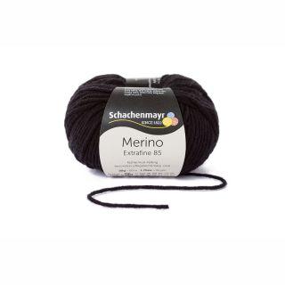 Merino Extrafine 85 - 000299 black  - SMC