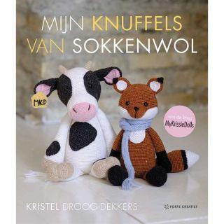 Mijn knuffels van sokkenwol - haakboek