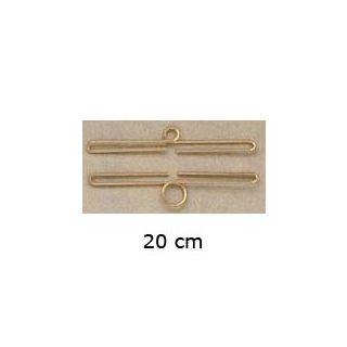 Ornament groeimeter - schellenkoord 20 cm - Permin